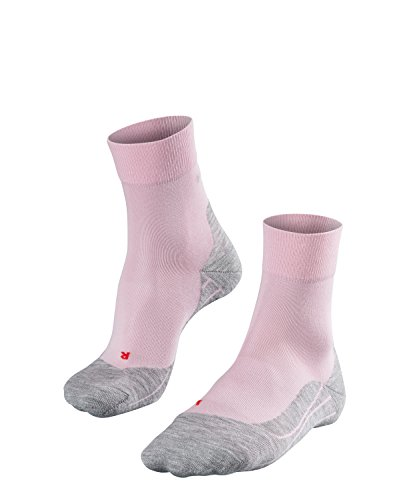 FALKE Damen Socken Laufsocken RU4 - 1 Paar, Gr. 37-38, rosa, feuchtigkeitsregulierend, Sportsocken Running
