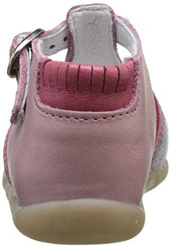 Babybotte Guppy4, Sandales Bébé Fille Rose (Rose Multi)