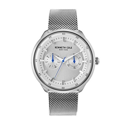 Kenneth Cole New York Reloj de Hombre Reloj de Pulsera Acero Inoxidable kc50577001