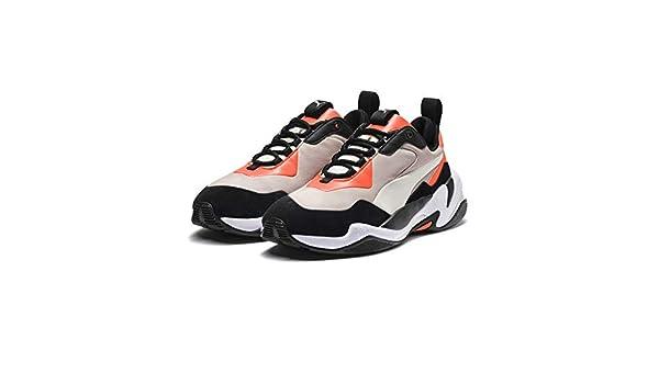 PUMA Thunder Nature Sneaker Nasturtium S Gray W White UK