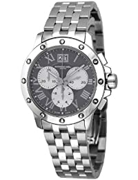 Raymond Weil Men's Quartz Watch with Grey Dial Chronograph Display and Silver Stainless Steel Strap 4899-ST-00668
