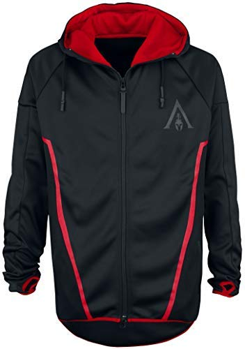 Assassin's Creed Odyssey - Technical Hexagonal Kapuzenjacke schwarz XL