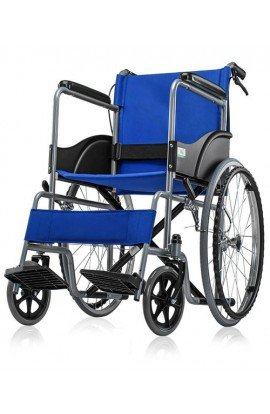 ME Premium Imported Folding Wheel Chair With seat belt and Dual Breaks