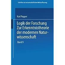 Logik der Forschung (Schriften zur wissenschaftlichen Weltauffassung)