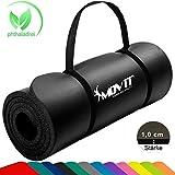 MOVIT Pilates Gymnastikmatte, Yogamatte, phthalatfrei, SGS geprüft, 183 x 60 x 1,0cm, in 12 unterschiedlichen Farben