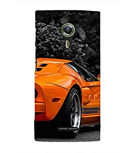 EPICCASE Wonder car Mobile Back Case Cover For Alcatel One Touch Flash 2 (Designer Case)