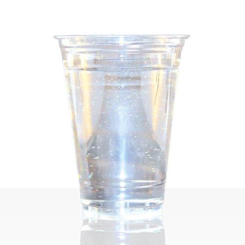 Clear Cup Becher 0,4l (16oz), 1000Stk PET Smoothie Klarbecher