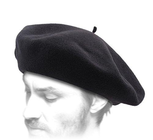 9884bdf3219 Laulhère - Béret Basque Homme Basque Authentique - Taille 58 cm