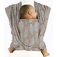 bfa437c8e21f Mam Baby Wrap Feather Cloud Blue Serviette de bain pour bébé Bleu ...