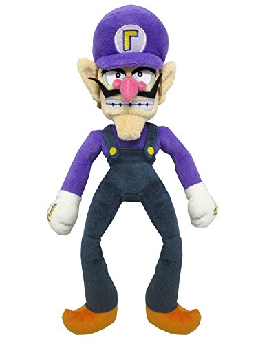 Super Mario -  Waluigi Plush - All Star Collection - 32cm 12.5""
