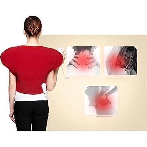 R&R Calore Terapia del collo e Stola, rilievo di riscaldamento per Quick sollievo dal dolore