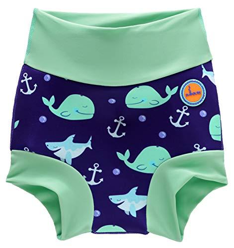Baby Schwimmen Windel Kinder Wiederverwendbare Schwimmen Windel Mädchen Kostüm Jungen Schwimmen Shorts (6-12 Monate, ()