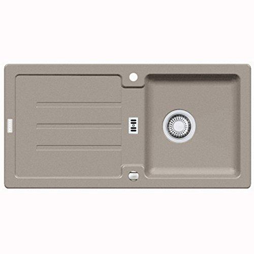 Franke Strata STG 614 Cashmere Granit-Spüle Küchenspüle Spülbecken Grau Auflage