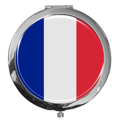 metALUm Premium - miroir de poche en métal chromé \