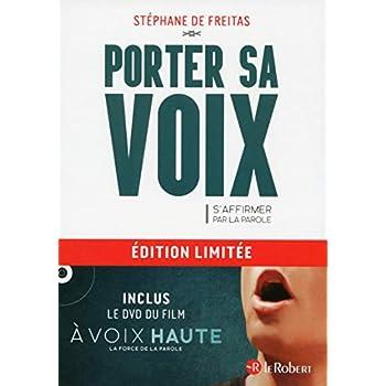 Coffret Porter sa voix (Livre + DVD du film À voix haute)