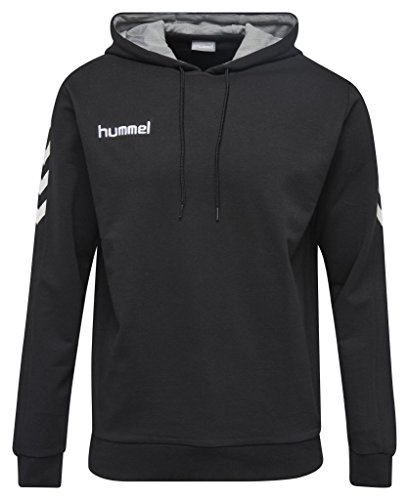 hummel Damen CORE Cotton Hoodie Sweatshirt Black, XXL