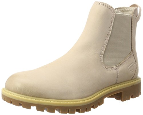 Tamaris Damen 25401 Chelsea Boots, Pink (Rose), 42 EU