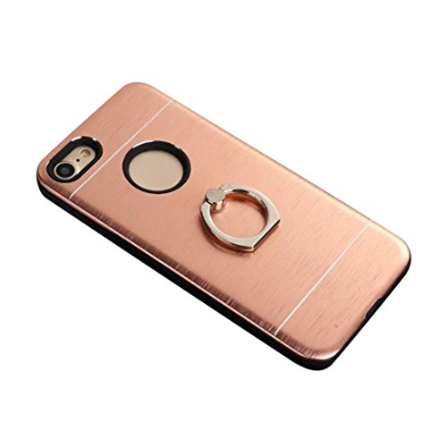 Cover per iPhone 7, Tpulling Custodia per iPhone 7 Case Cover Custodia sottile della custodia per PC Assorbimento per IPhone 7 4.7 pollici (Silver) Rose Gold