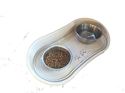 No Mess Dog and Cat Bowl Tray