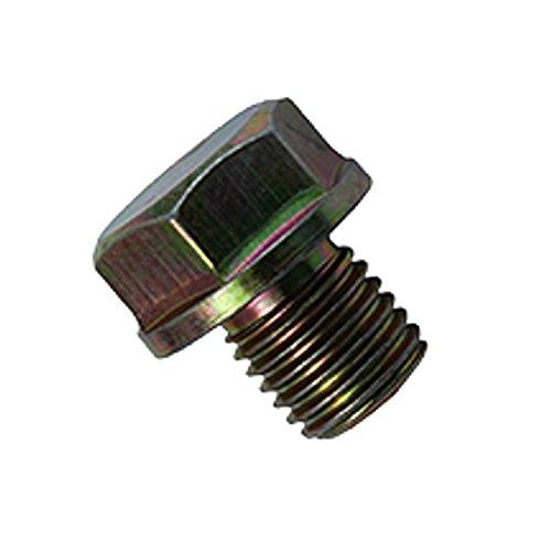 Preisvergleich Produktbild Xfight-Parts Schraube M12x1.5x15mm mit Bund weiss verzinkt 4Takt 50/180ccm Jack Fox Retro Star
