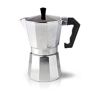 Cafe Ole 3-Cup Italian Style Aluminium Espresso Coffee Maker