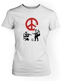 CND Soldaten Banksy Damen T-Shirt