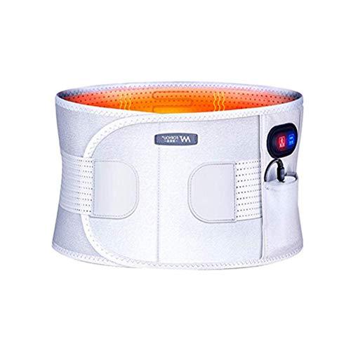 l Vibration Warm Palace Elektrische Heizung Rückenschmerzen Taillenmassagegerät Lindern Bandscheibenvorfall Rückenschmerzen und Stress Lindern Mann Frau ()