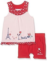 Disney Baby-Mädchen Bekleidungsset Minnie Paris