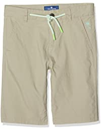 TOM TAILOR Kids Jungen Shorts Basic Poplin Stretch Bermuda