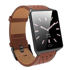Chenang CK19 Sport Smartes Armband,Wasserdicht IP67 Intelligent Armband,Blutdruckkalorien Smartwatch,Fitness Tracker Uhr GPS-Laufuhr Unisex Armband und Fitness-Tracker Schlafüberwachung Uhren