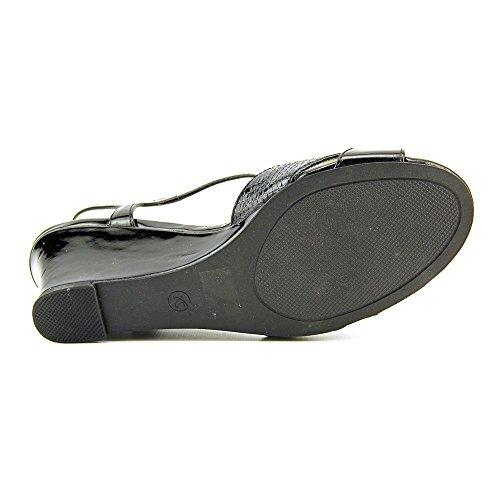 Karen Scott Sabinaa Synthetik Keilabsätze Sandale Black