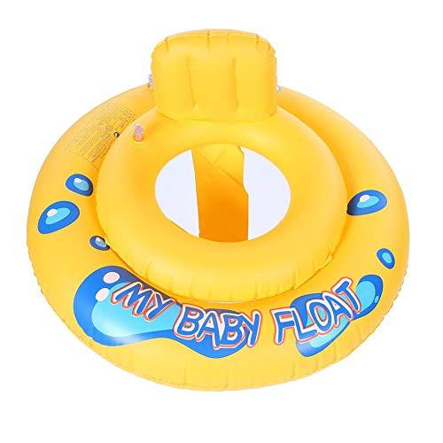 Zerodis Baby Schwimmen Float Ring aufblasbare Schwimmboot Ring Infant Kleinkinder Schwimmtraining Hilfe mit Baby Safe Sitzen für Badewanne Pools Schwimmtrainer Neugeborenen 12-36 Monate