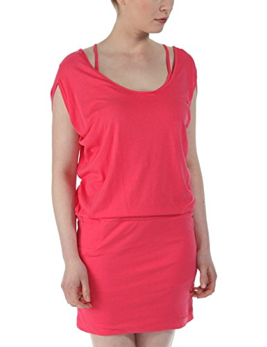 Bench Damen Kleid Jerseykleid Superracer rosa (Honeysuckle) Small
