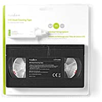 HQ VHS Head Cleaner - Cinta de Limpieza VHS-C - Negro