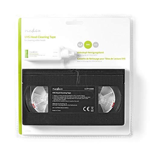 HQ VHS Head Cleaner - Cinta Limpieza VHS-C - Negro
