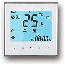 Termostato WIFI, Arxus WIFI Control LCD Pantalla táctil 2/4-Pipe termostato programable
