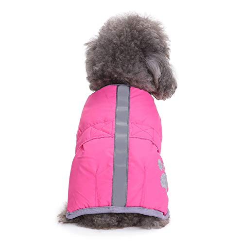 Dragon868 Cold Weather Dog Coats Loft Reversible Winter Fleece Dog Vest Pet Jacke Fur Reversible Coat
