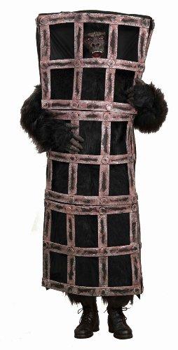 Forum Novelties Inc. Gorilla Affe im Käfig Kostüm für Erwachsene (Käfig Kostüme Gorilla Und)