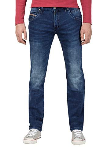 Timezone Herren Regular RyanTZ Straight Jeans, Blau (Industry Blue Wash 3346), W33/L32 (Herstellergröße: 33/32)