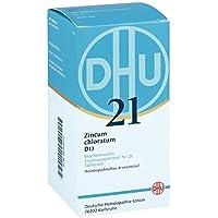 Biochemie Dhu 21 Zincum chloratum D 12 Tabletten 420 stk preisvergleich bei billige-tabletten.eu