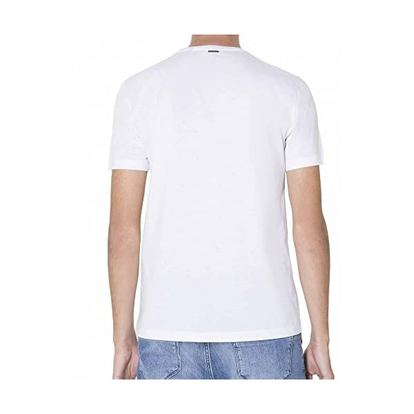 Antony Morato White Bonded Pocket Circle Motif T-Shirt