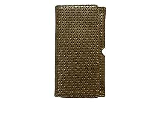Atv Pu leather Pouch Case Flip Cover For Gionee Marathon M3(Light Salmon)