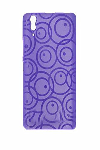 ECellStreet Exclusive Textured Soft Back Case Cover Back Cover For Lenovo P780 P 780 - Purple  available at amazon for Rs.210
