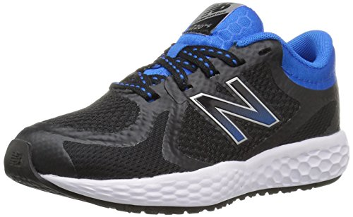 New Balance 720v4, Baskets Basses Mixte Enfant Multicolore (Black/bue)