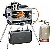 Holly® Produkte–STABIELO–acciaio inox bruciatore a gas–Valigetta barbecue–con 2piano siti–30mbar Version–Bruciatore