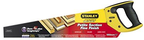 Stanley 2-15-244 Scie égoïne JetCut coupe fine 550 mm