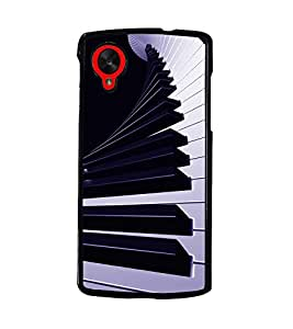 PRINTSWAG PIANO Designer Back Cover Case for LG GOOGLE NEXUS 5