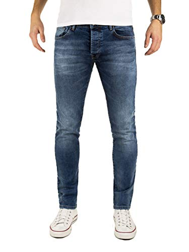 Wotega jeans uomo slim fit rick - marino scuro, blu (insignia blue 194028), w29/l32