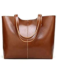 9f6cd8085a244 Bloomerang Women Shoulder Bag Oil Wax Leather Big Size Women Messenger Bags  Large Capacity Casual Han