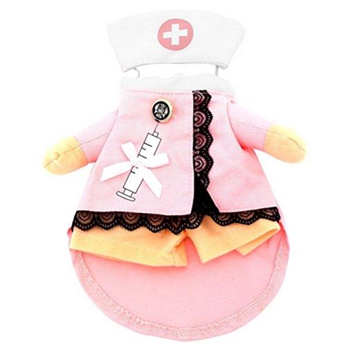 zunea Halloween kleine Hunde Katze Krankenschwester Kostüm mit -